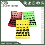 colored Silicone rubber o ring kit for ex-factory price various size