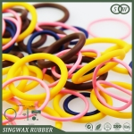 customized colored rubber silicone ring seal from Chinese rubber manufacturer